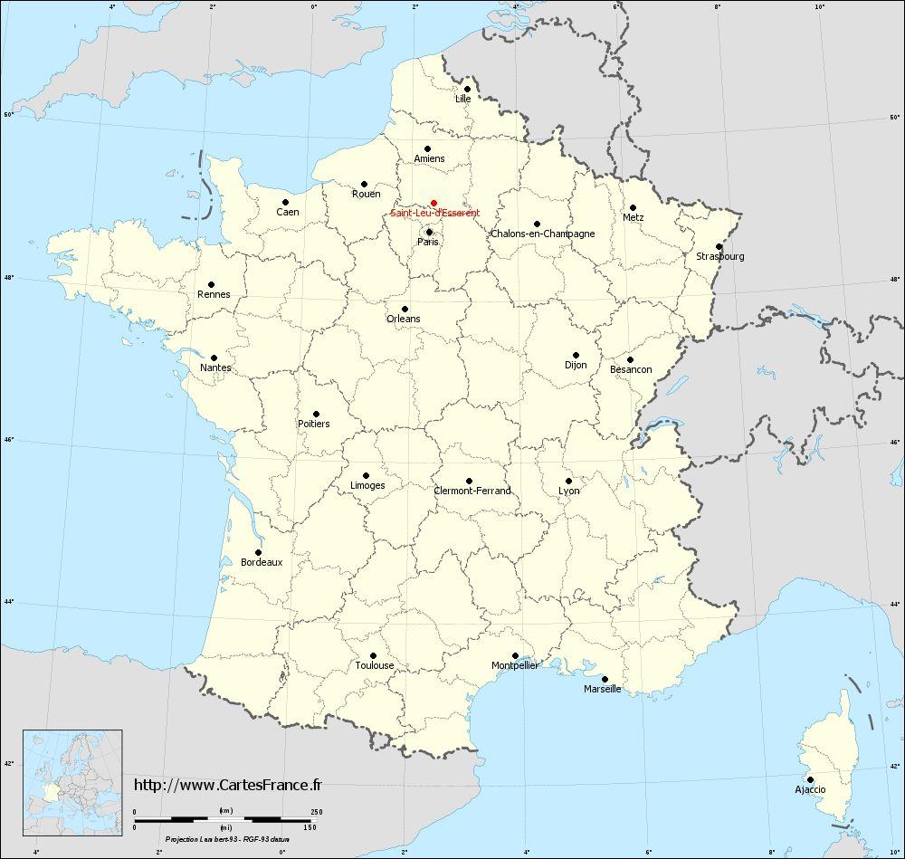 Téléphone   CABINET VETERINAIRE SAINT-LEU-D'ESSERENT 60340