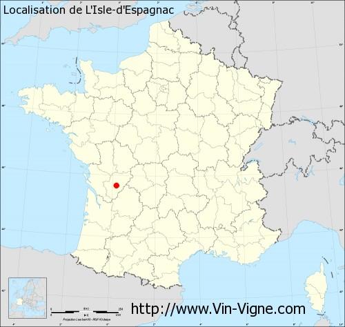 Téléphone   CABINET VETERINAIRE DR GABARD L'ISLE-D'ESPAGNAC 16340